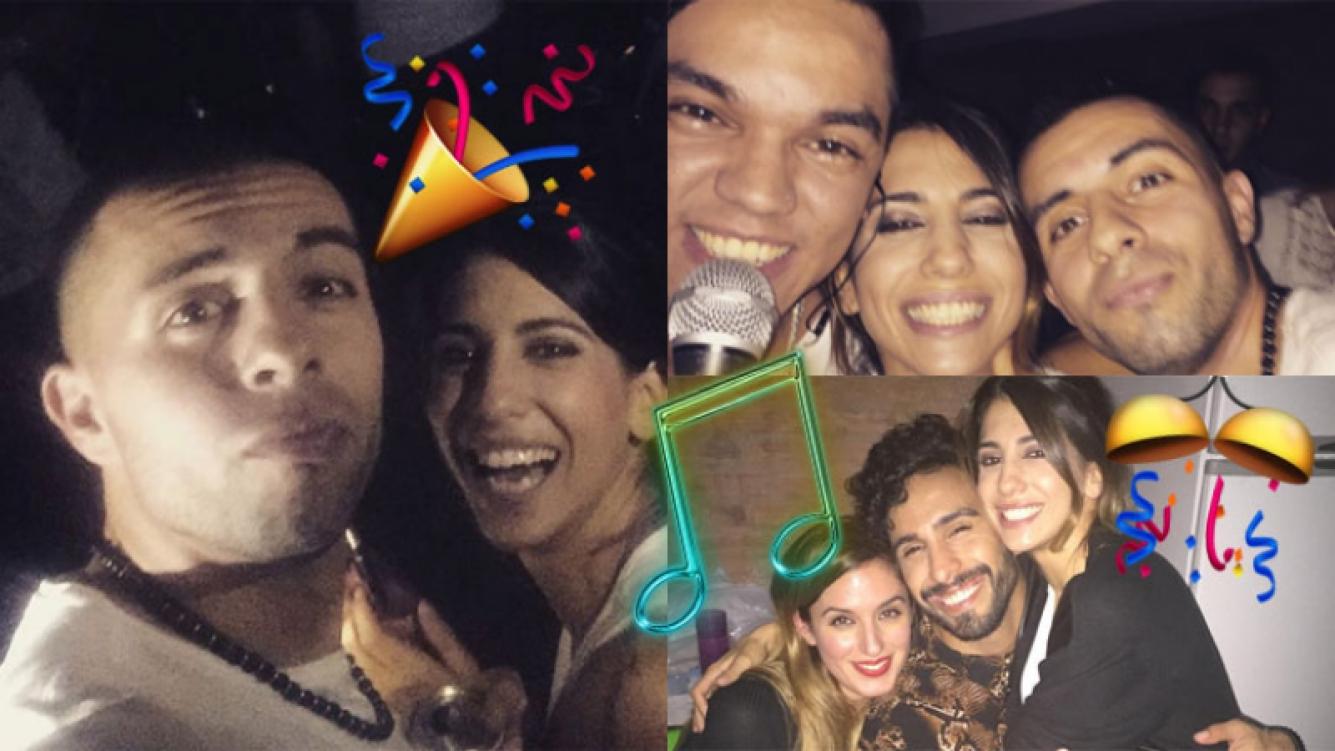Cinthia Fernández y su fiesta sorpresa a Defederico (Fotos: Instagram).