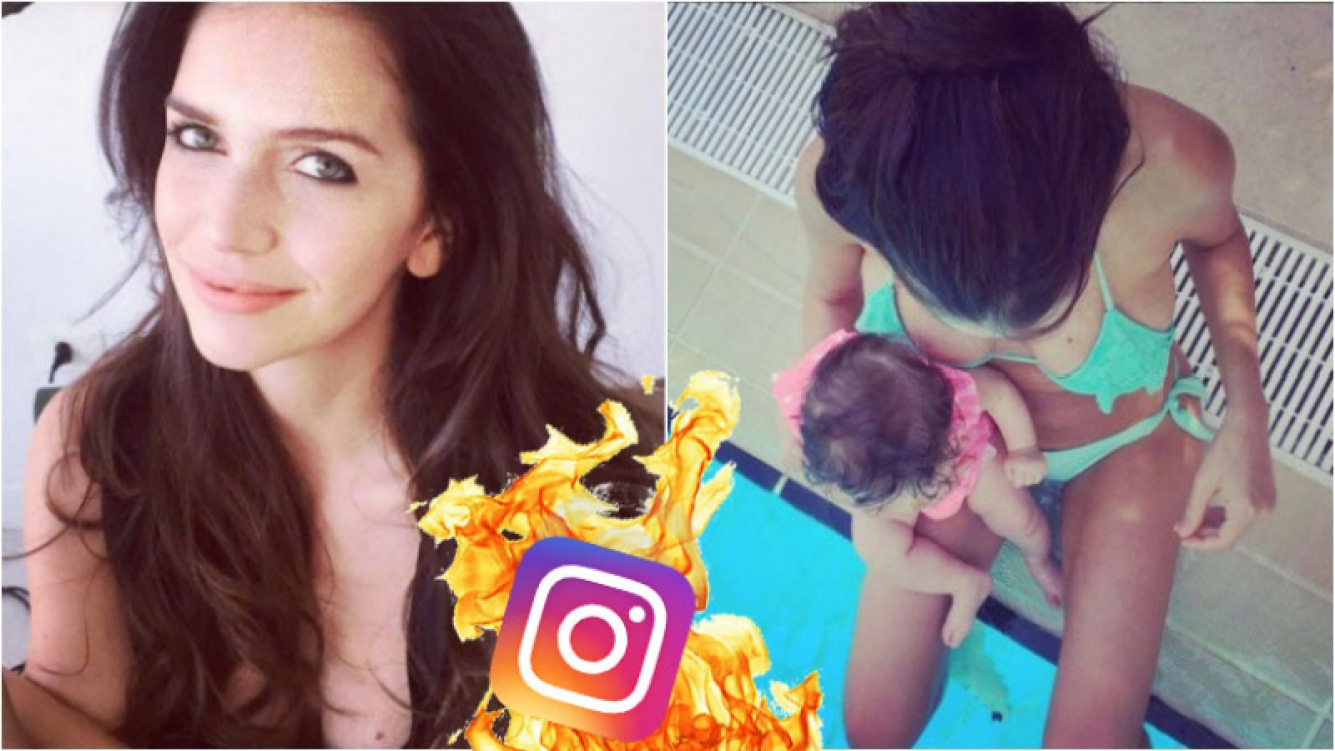 Zaira Nara se puso la bikini a 4 meses de ser mamá. Foto: Instagram