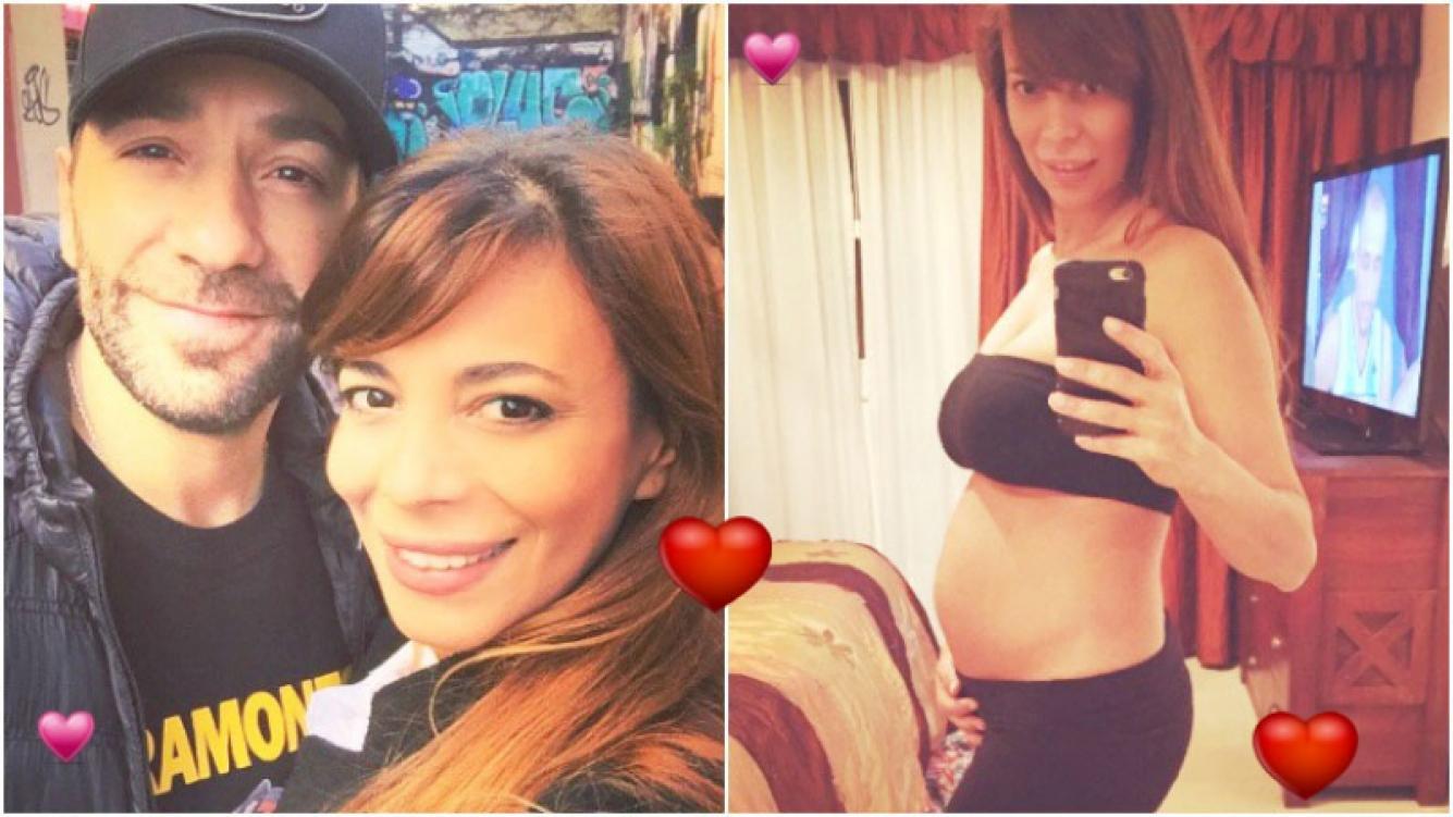 La tierna foto de Ximena Capristo embarazada de 4 meses (Fotos: Twitter)