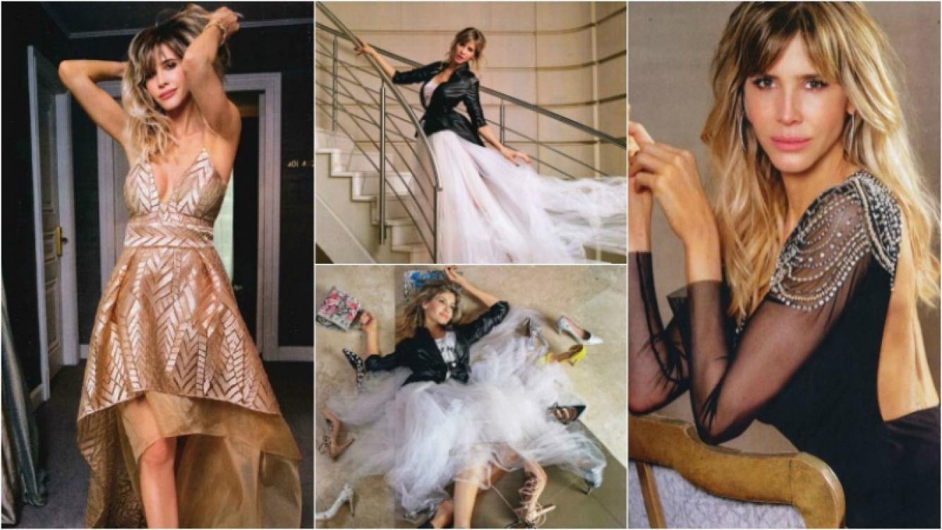 Guillermina Valdés y su producción súper glam. Foto: ¡Hola! Argentina