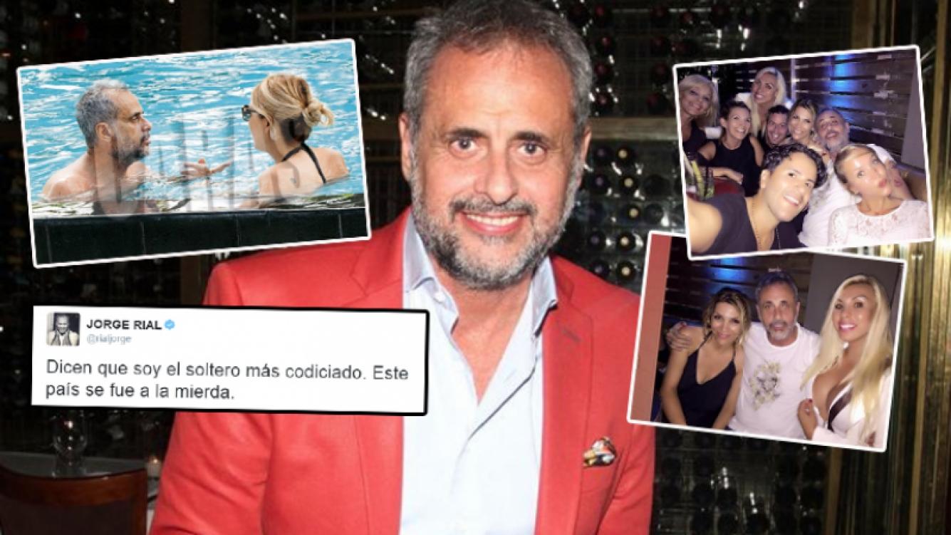 El divertido tweet de Rial tras su regreso de Miami (Foto: Caras, Instagram y Web)