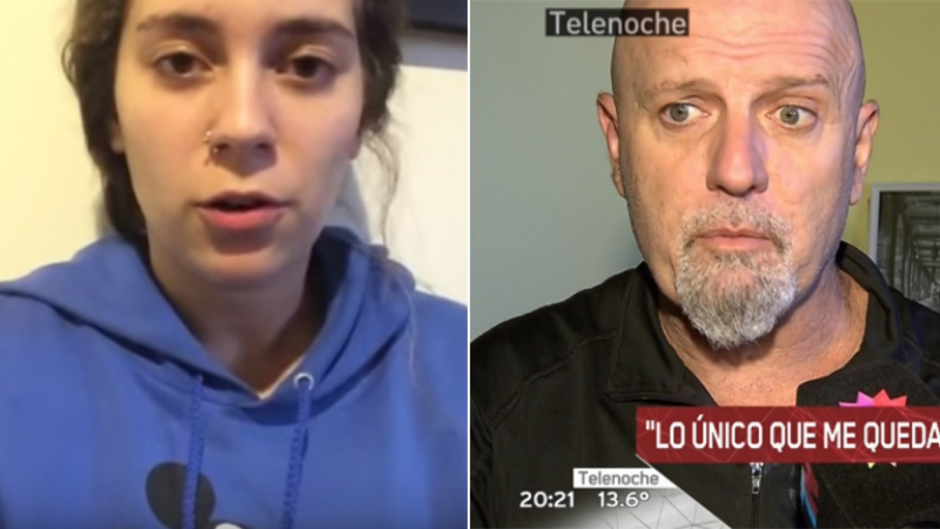 Yanela Cordera defendió a su papá en un video.