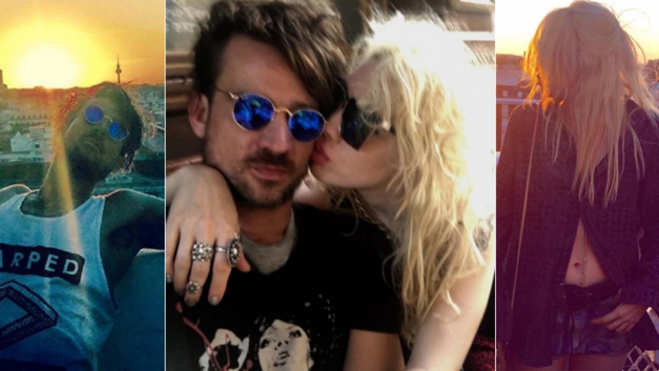 Militta Bora publicó la primera foto romántica con Chano en Instagram (Foto: Instagram y web)
