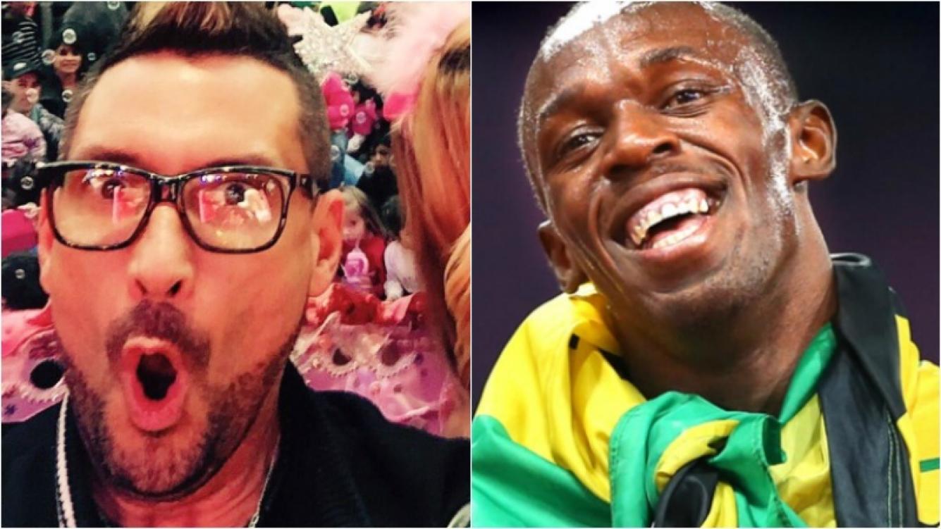 El divertido meme olímpico del Tirri con Usain Bolt. Foto: Web