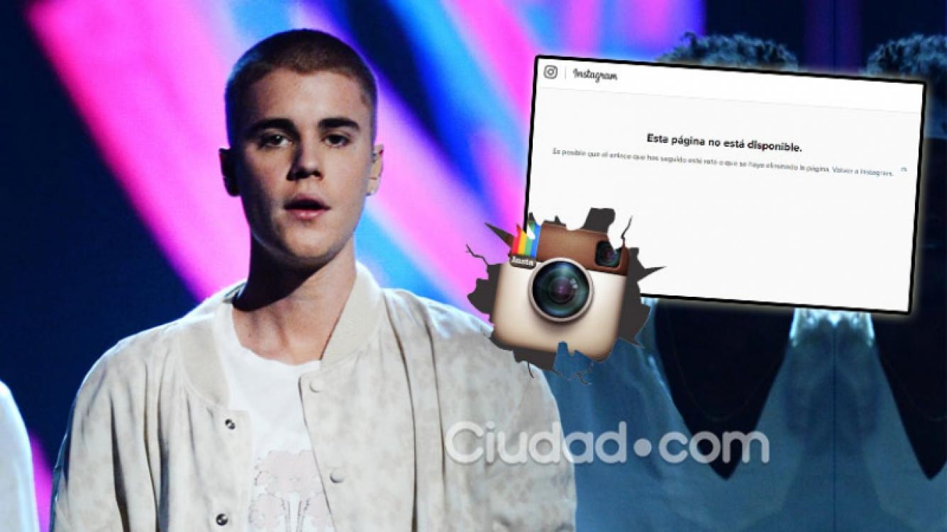 Justin Bieber cerró su cuenta Instagram por las críticas de sus fans. Foto: AFP