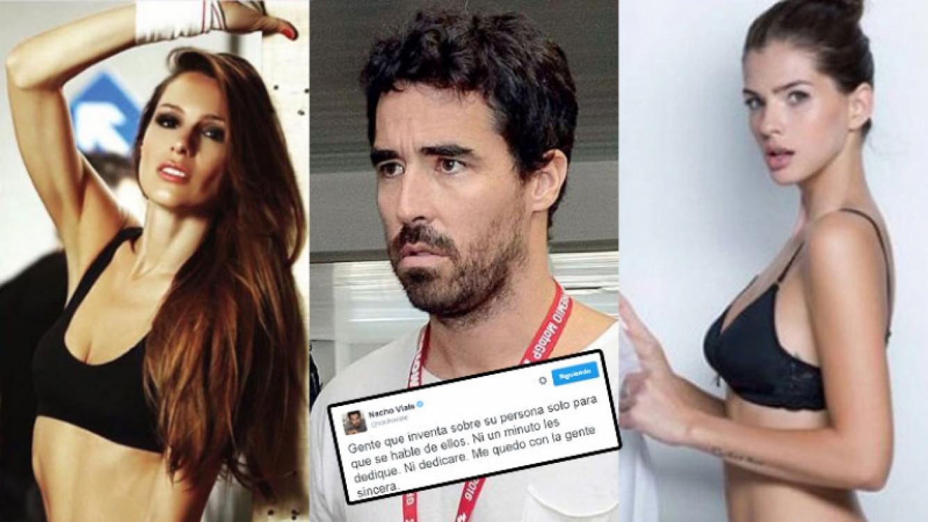 """Nacho le dio """"me gusta"""" a un mensaje de Pampita y disparó desde Twitter (Fotos: Web)."""