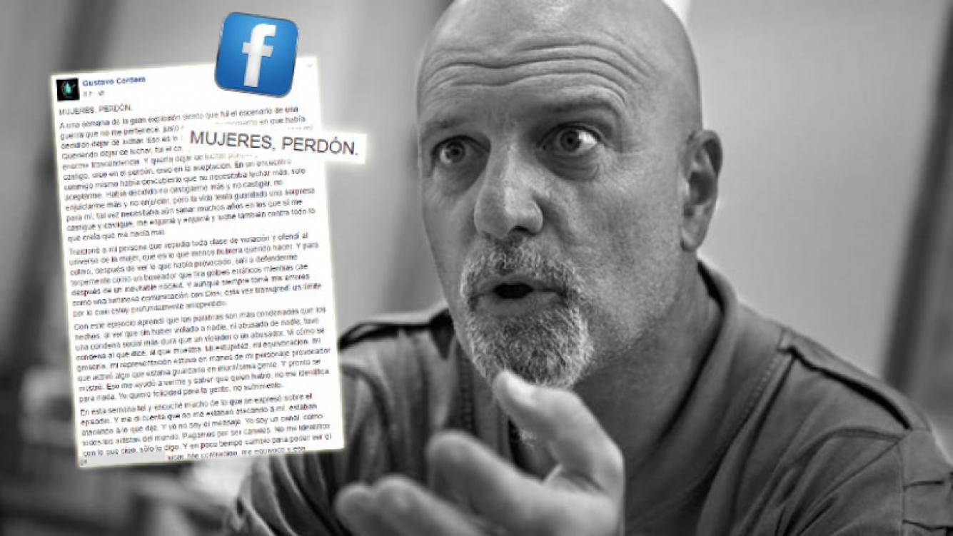 La carta pública de Gustavo Cordera tras sus escandalosos dichos sobre el abuso sexual. (Foto: Web)