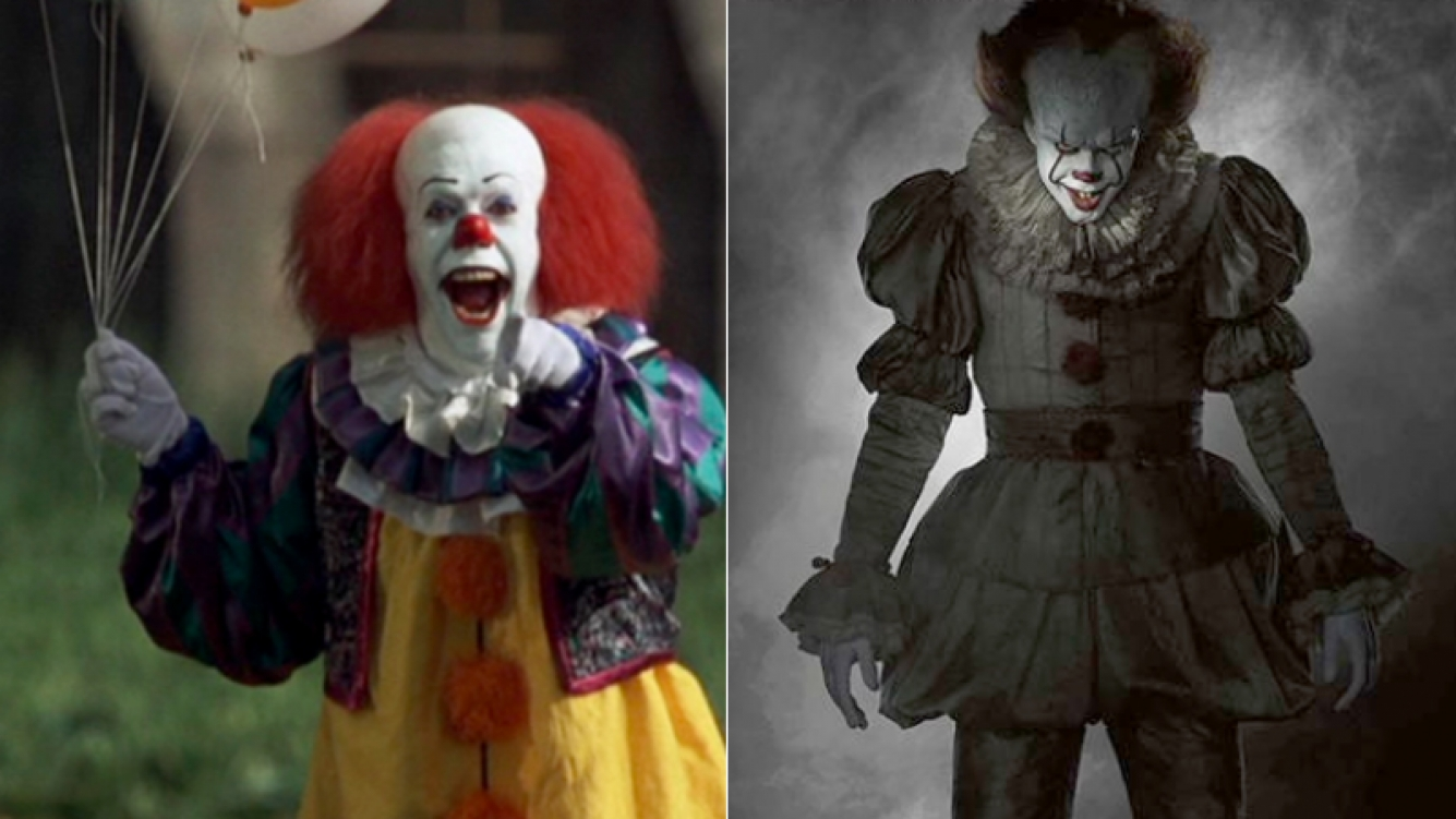 Revelaron la imagen de It, el payaso asesino (Foto: Web y a Entertainment Weekly)