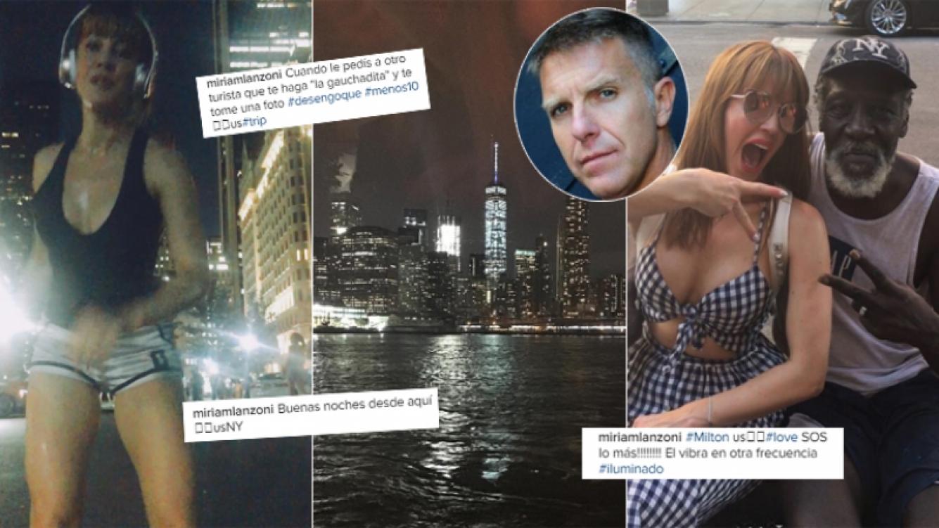 Miriam Lanzoni y sus días en Nueva York tras la separación de Fantino (Foto: Instagram)