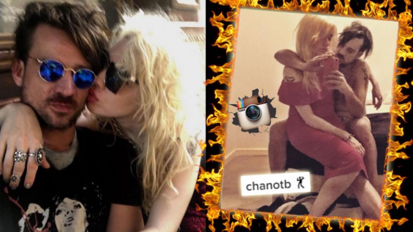 Militta Bora y Chano Moreno Charpentier compartieron una foto entre hot y bizarra. (Foto: Instagram)