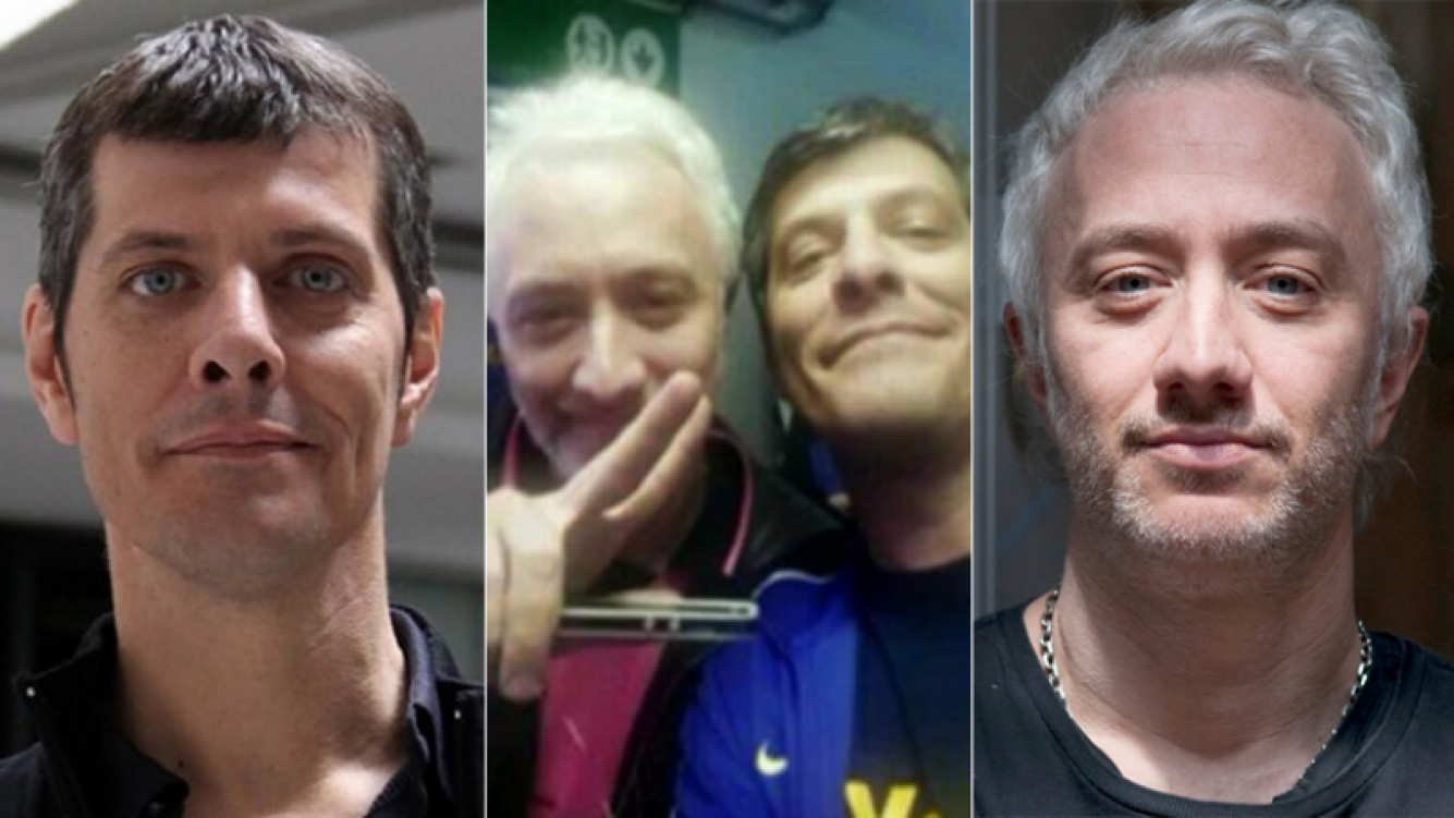 Mario Pergolini llamó a Andy Kusnetzoff... y se reconciliaron (Foto: Web y Twitter)