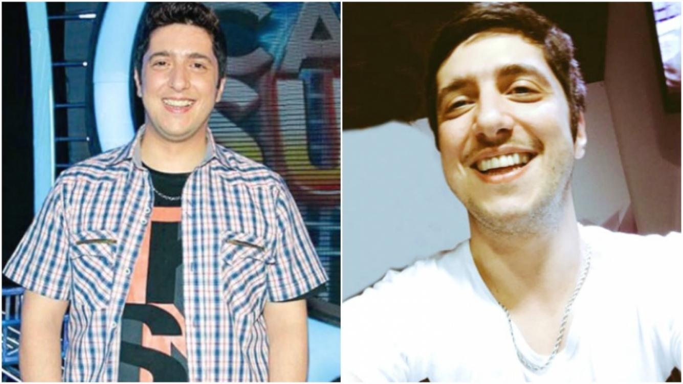 La nueva figura de Jey Mammon tras bajar 20 kilos (Fotos: Web y Twitter)