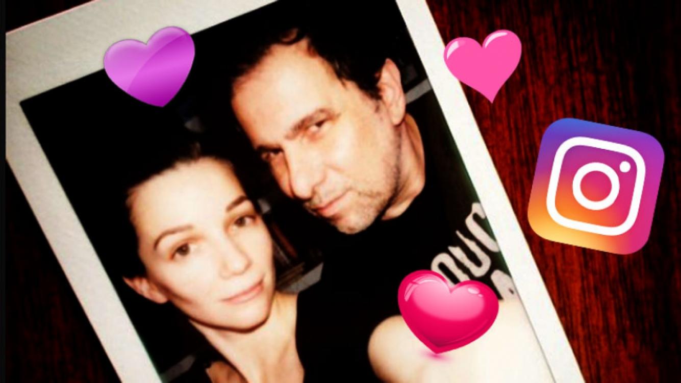 El romántico saludo de cumpleaños de Mica Breque a Calamaro. (Foto: Instagram)