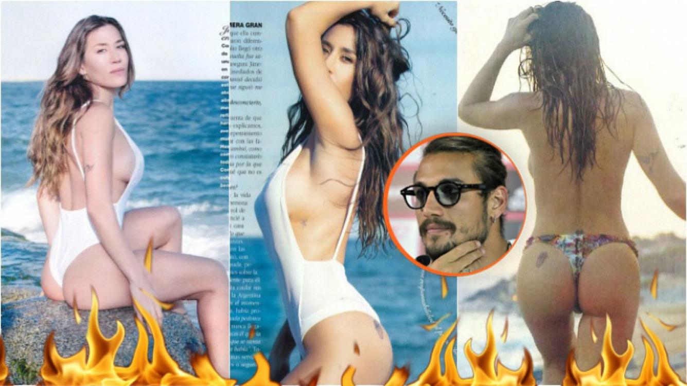 Jimena Barón, súper sexy en el Mediterráneo. Foto: Revista Gente