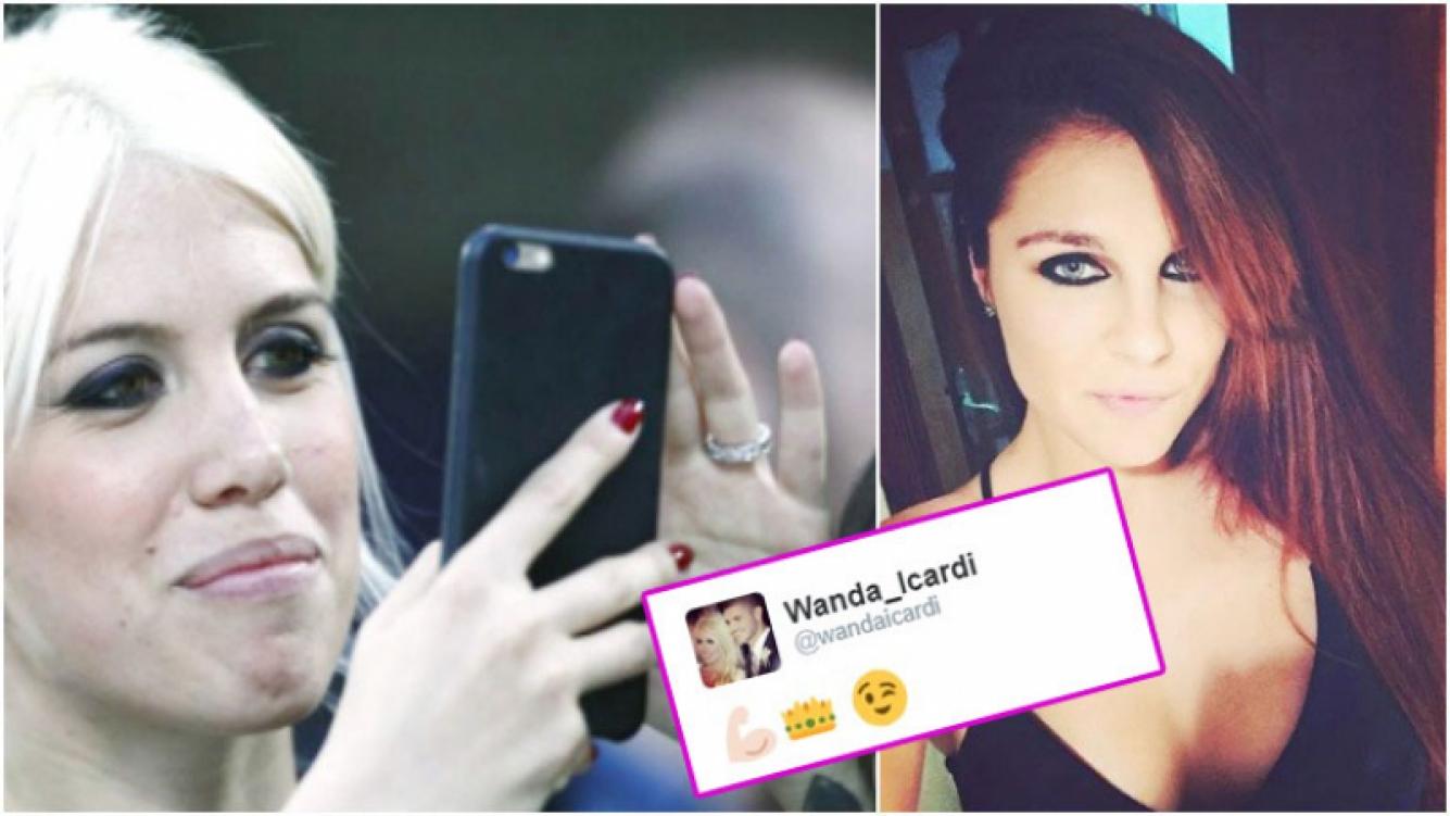 El mensaje de Twitter de Wanda Nara para Ivana Icardi en el medio de la final de GH 2016 (Fotos: Web)