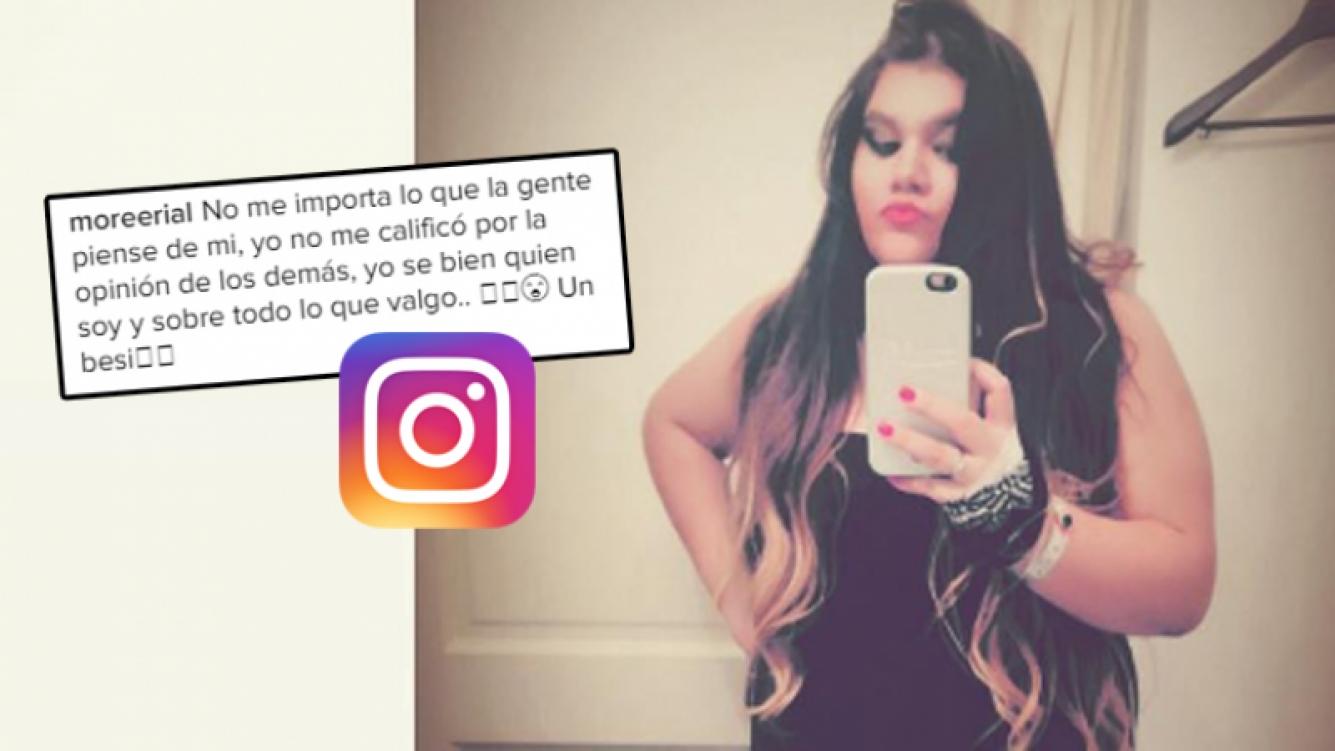 Morena Rial le puso el pecho a las críticas (Foto: Instagram)