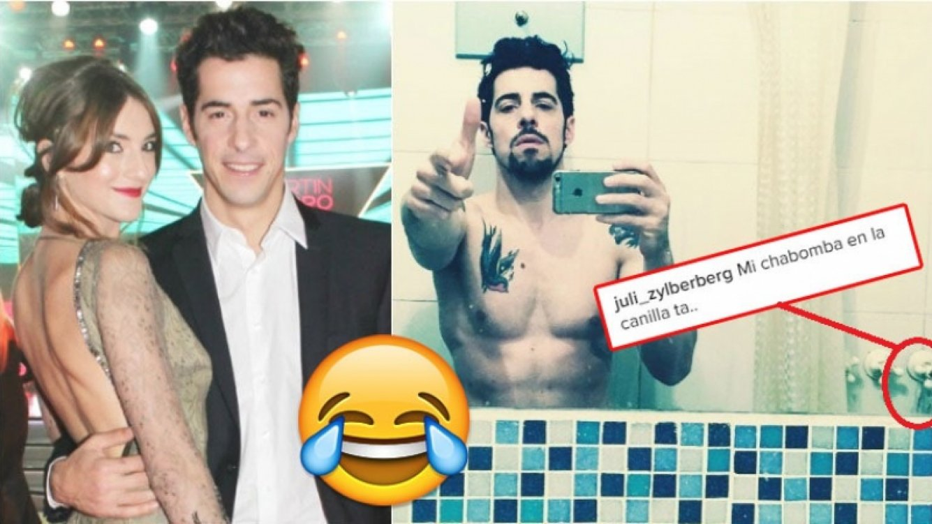 La foto sexy de Esteban Lamothe y su divertido blooper (Fotos: Web e Instagram)