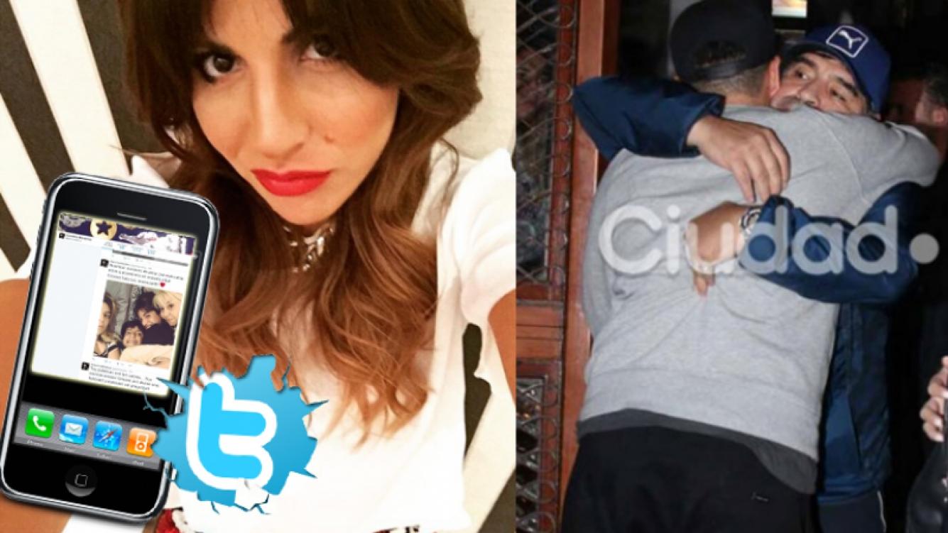 Gianinna Maradona y un contundente mensaje  (Foto: Instagram, Ciudad.com y Twitter)