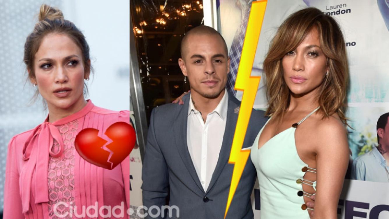 Jennifer Lopez terminó su noviazgo con Casper Smart (Fotos: AFP).