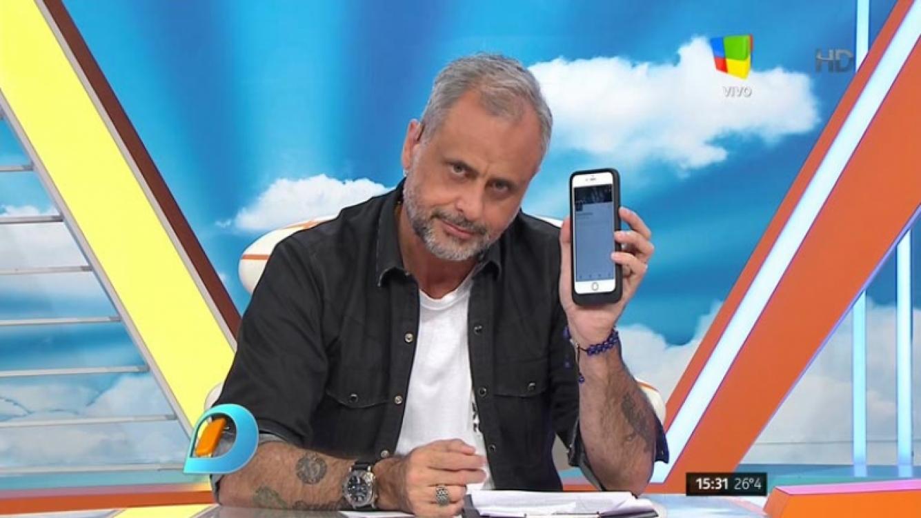 Jorge Rial le pidió a Flavio Mendoza que lo desbloquee de Twitter. (Foto: captura TV)