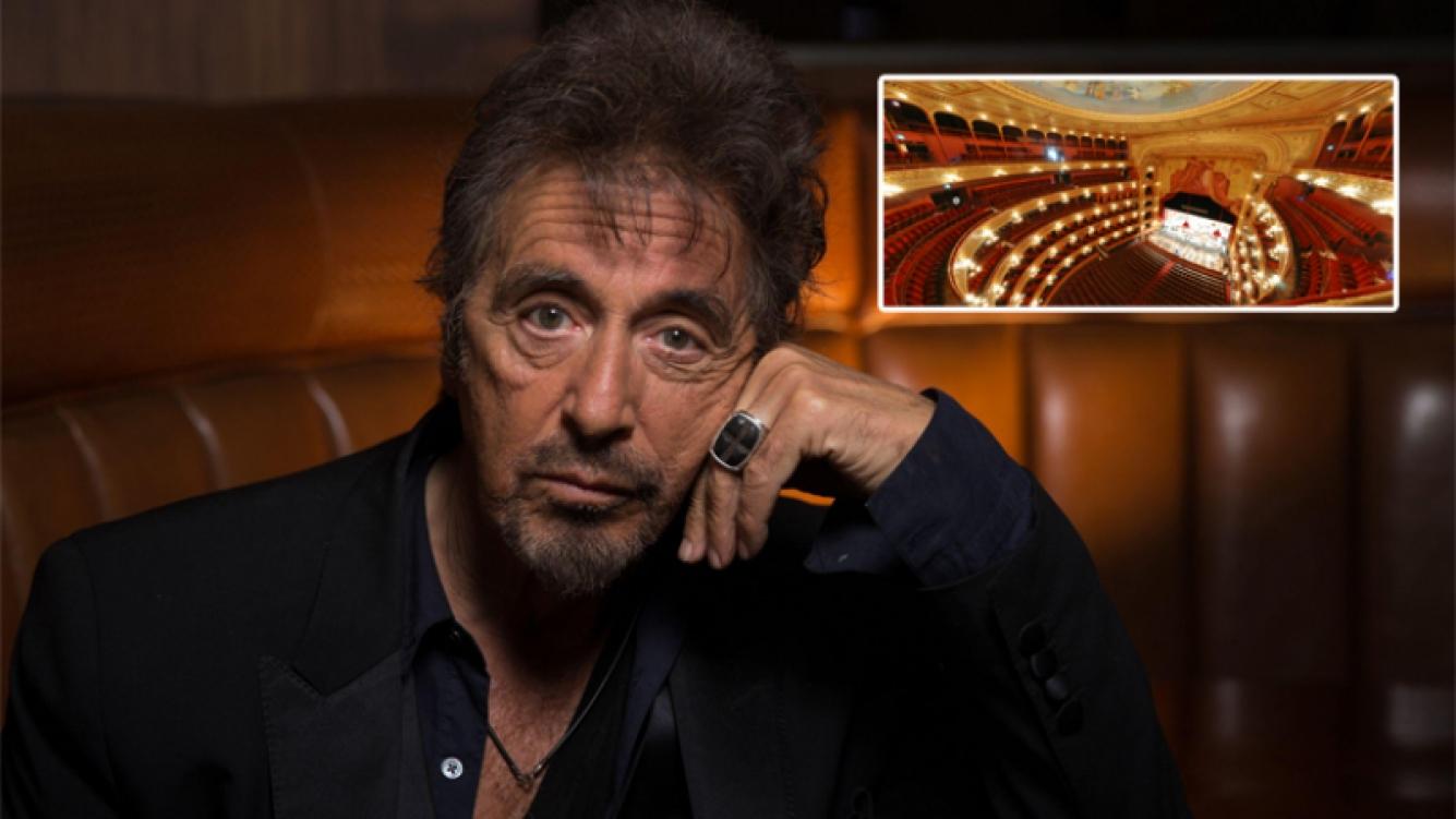 Al Pacino actuará por una noche en el Teatro Colón (Foto: Web)