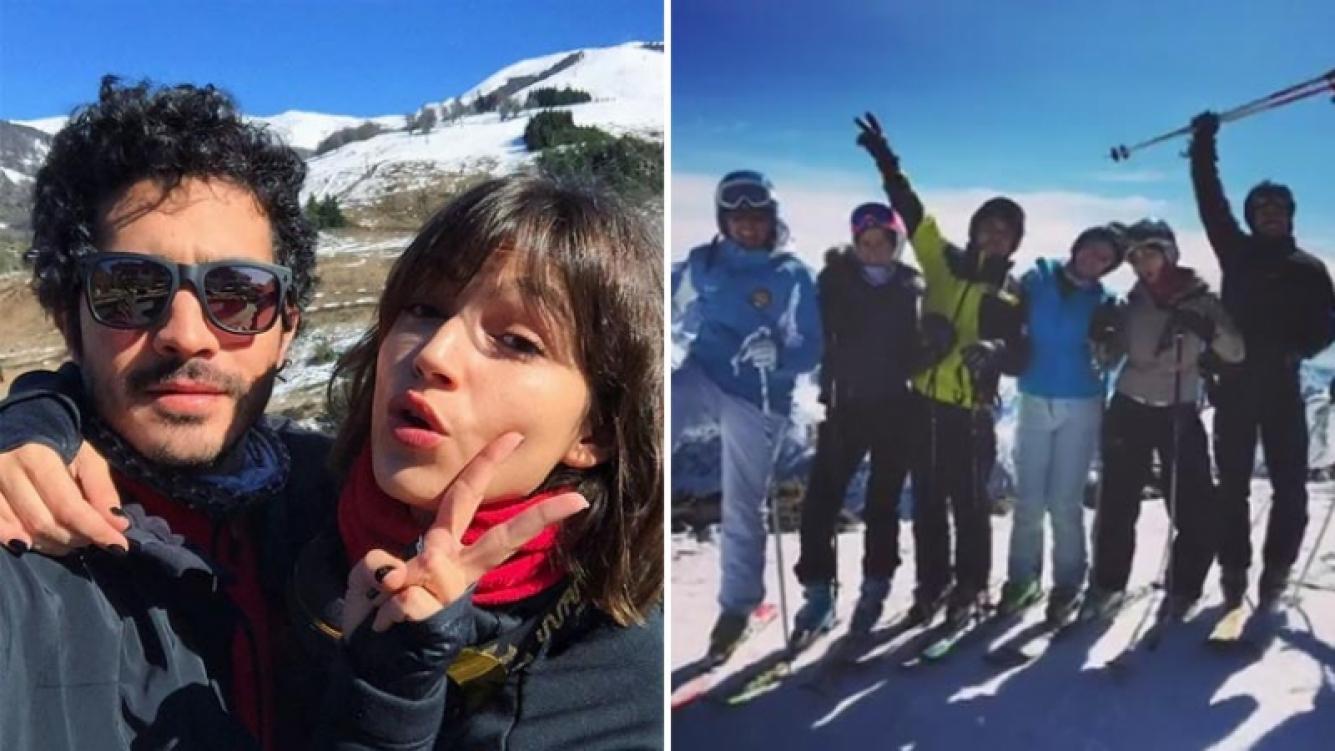 El Chino Darín y Úrsula Corberó, una parejita top enamorada en Bariloche. (Foto: Instagram)