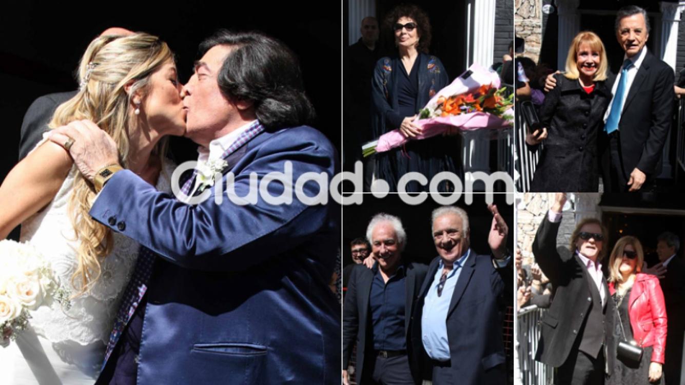 Las fotos del casamiento de Cacho Castaña y Marina Rosenthal (Foto: Movilpress)