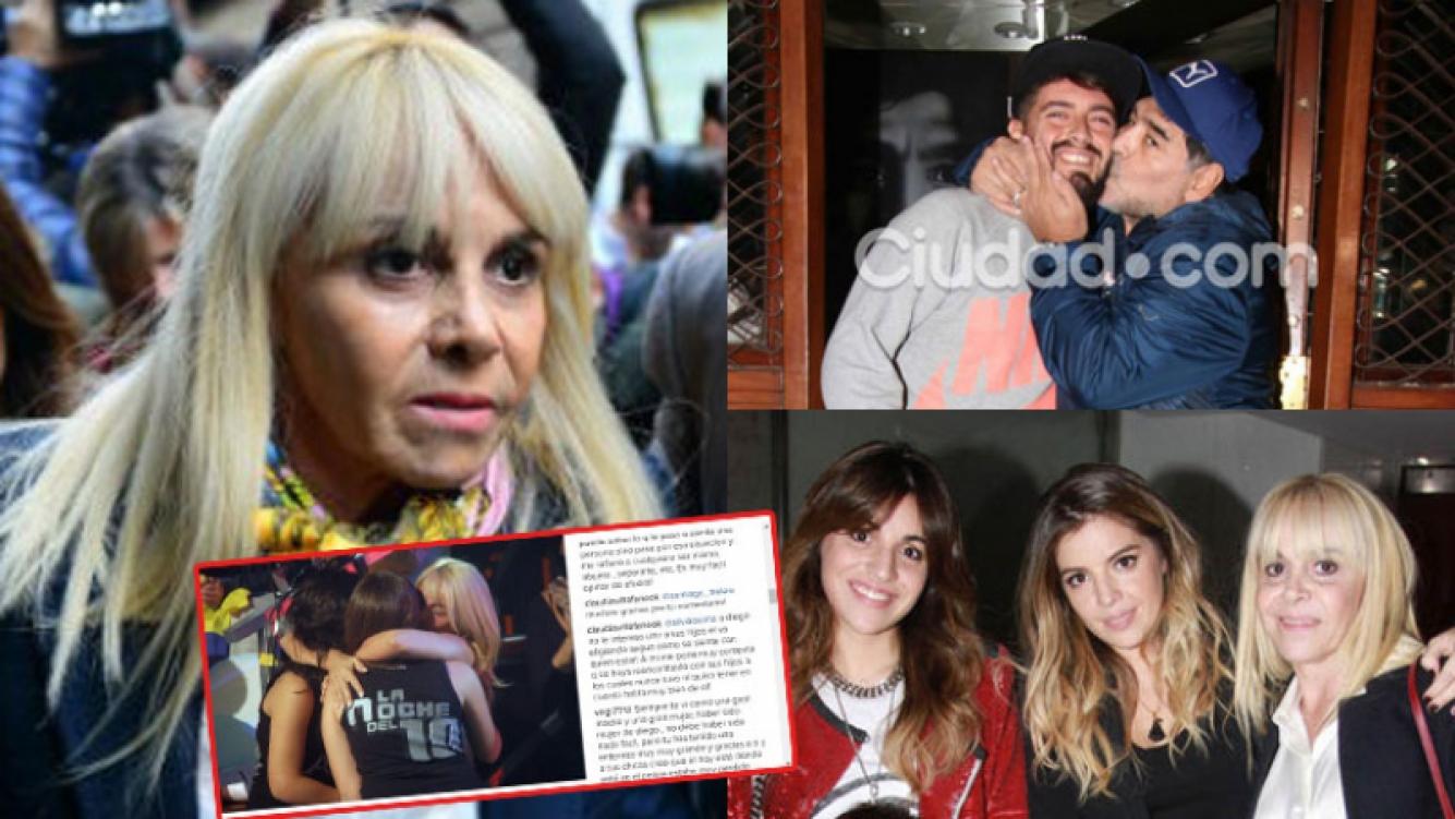 Claudia Villafañe estalló en las redes sociales (Fotos: Web y Archivo Ciudad.com).