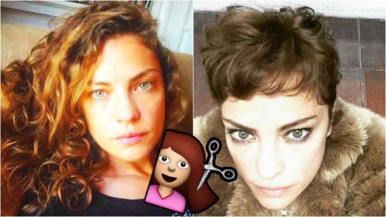 El cambio de look de Dolores Fonzi (Fotos: Instagram)