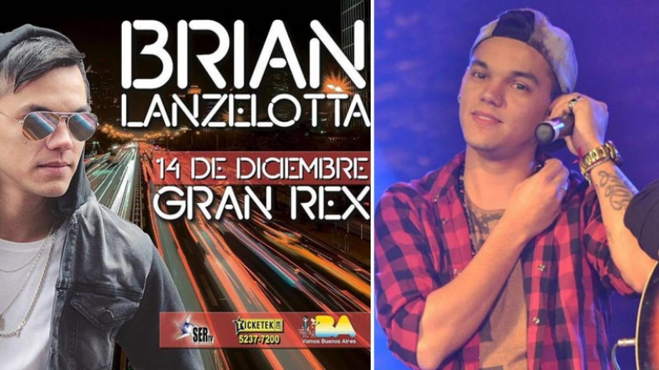 Brian Lanzelotta tocará con su banda en el Gran Rex. (Foto: Instagram)