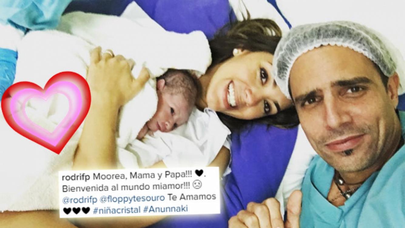 ¡Felicidades! Nació Moorea, la hija de Floppy Tesouro. (Foto: Instagram)