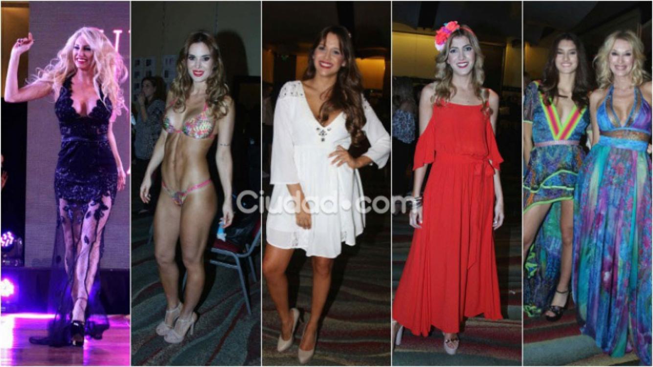 Diosas y súper looks en la pasarela del Fashion Days de La Jaula de la moda. Foto: Movilpress