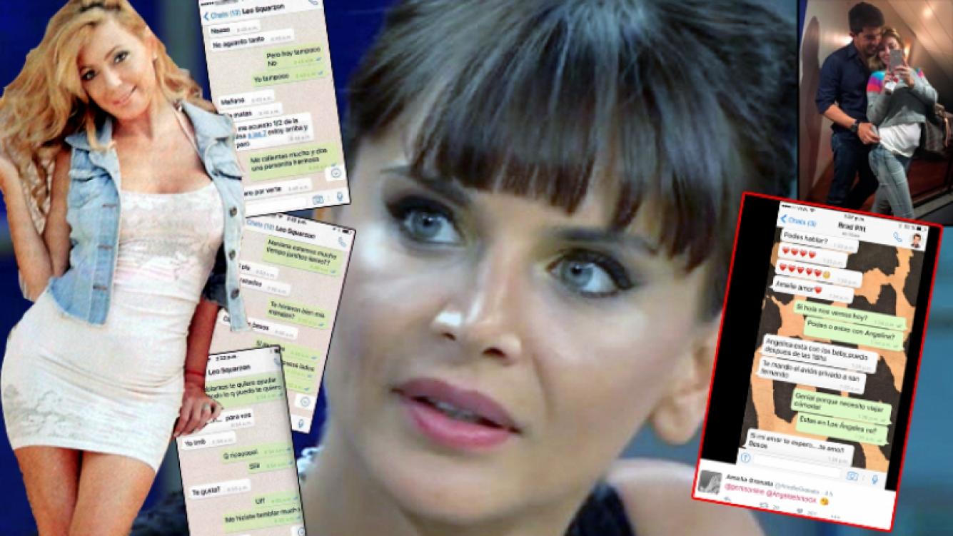 Granata respondió con ironía a los supuestos nuevos chats entre Pau Linda y Leo Squarzon, publicados en la revista Gente.