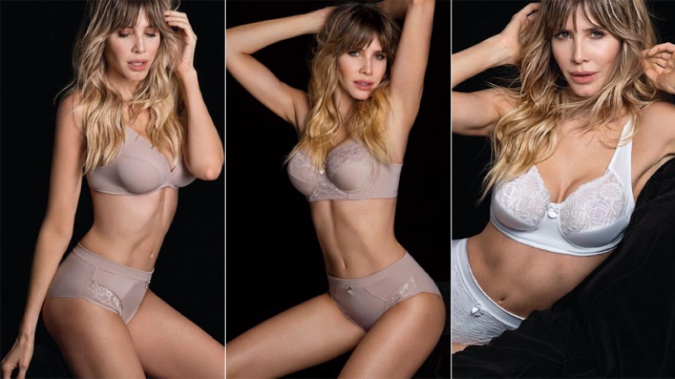 Guillermina Valdés, en una producción súper sexy en ropa interior (Foto: Instagram)