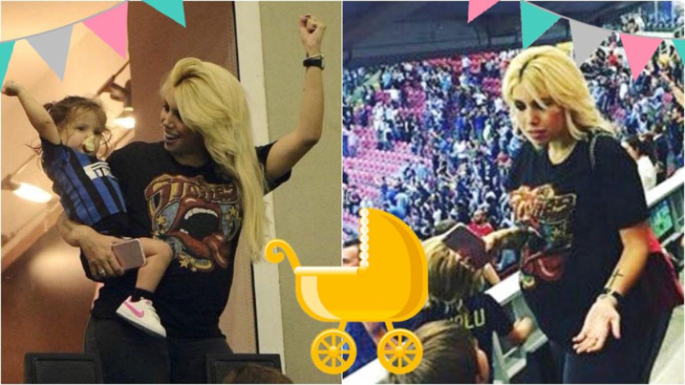 La súper pancita de Wanda Nara, embarazada de 6 meses. Foto: Instagram