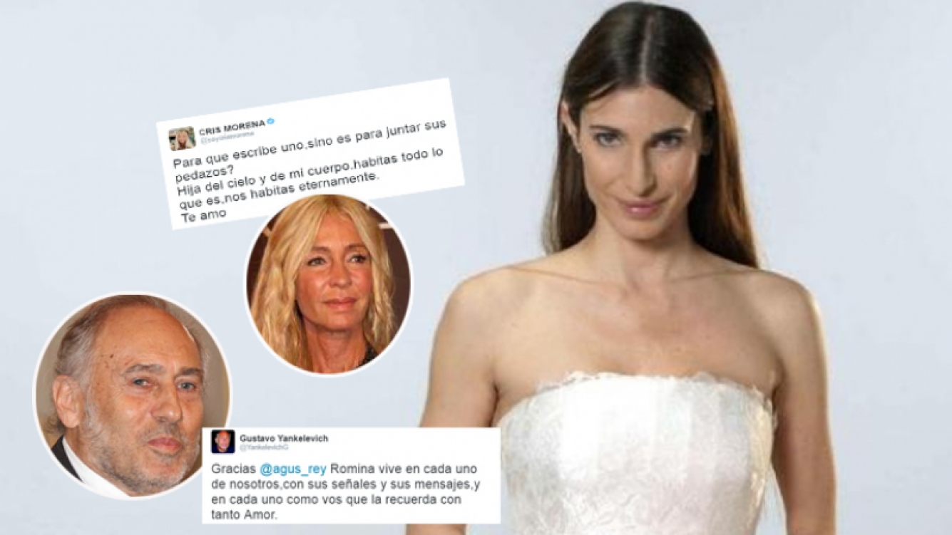 Seis años sin Romina Yan: los emotivos tweets de Cris Morena y Gustavo Yankelevich  (Foto: web y Twitter)