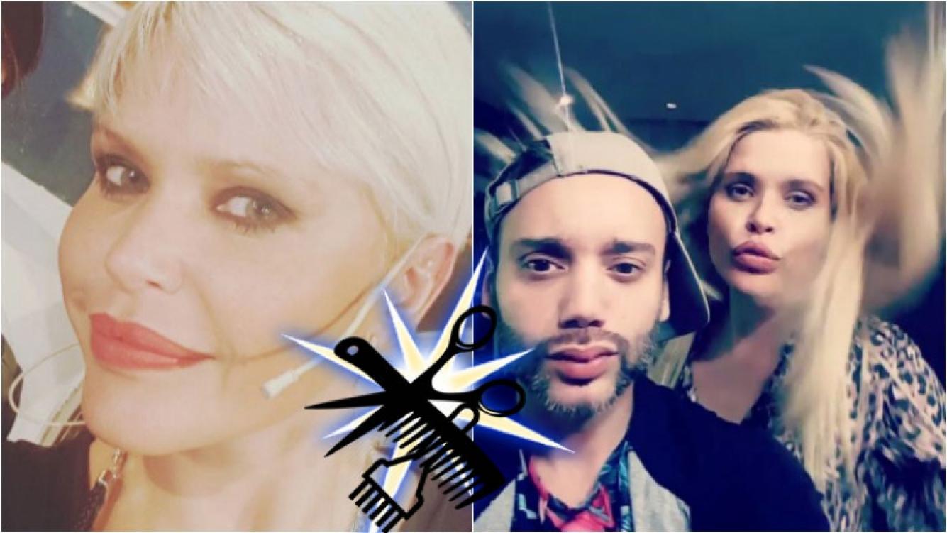 Nazarena Vélez cambió su look y lo lució en Instagram. Foto: Instagram