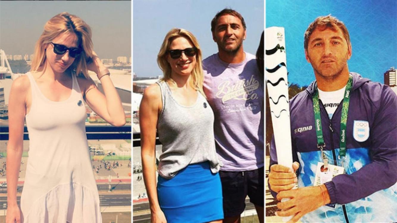 """Alina Moine y Carlos """"Chapa"""" Retegui, en crisis, ¿y separados? (Foto: Instagram)"""