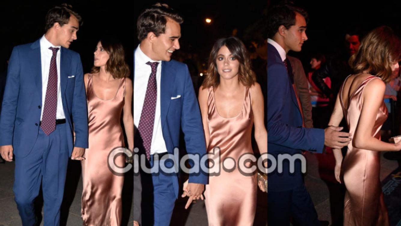 Tini Stoessel y Pepe Barroso Silvia, juntos y enamorados en España (Fotos: GrosbyGroup).