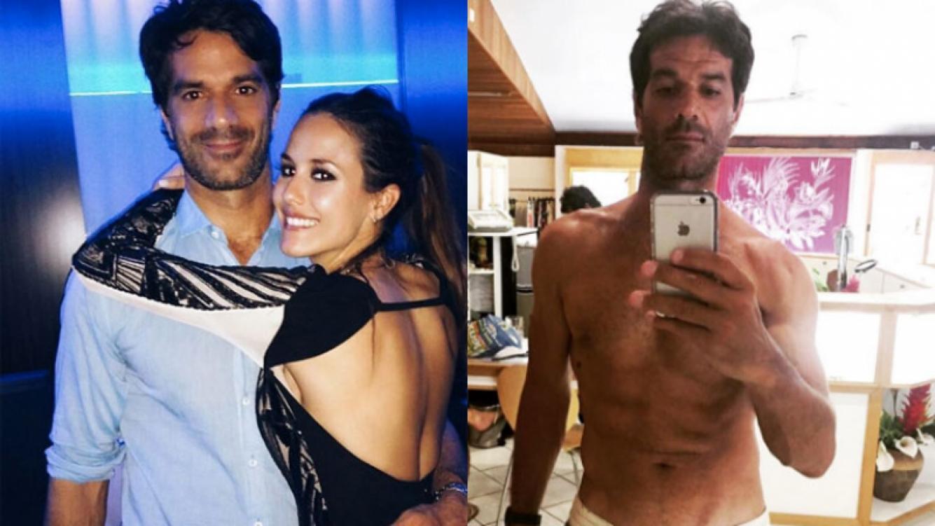 Luli Fernández publicó una foto sexy de su marido (Fotos: Instagram).
