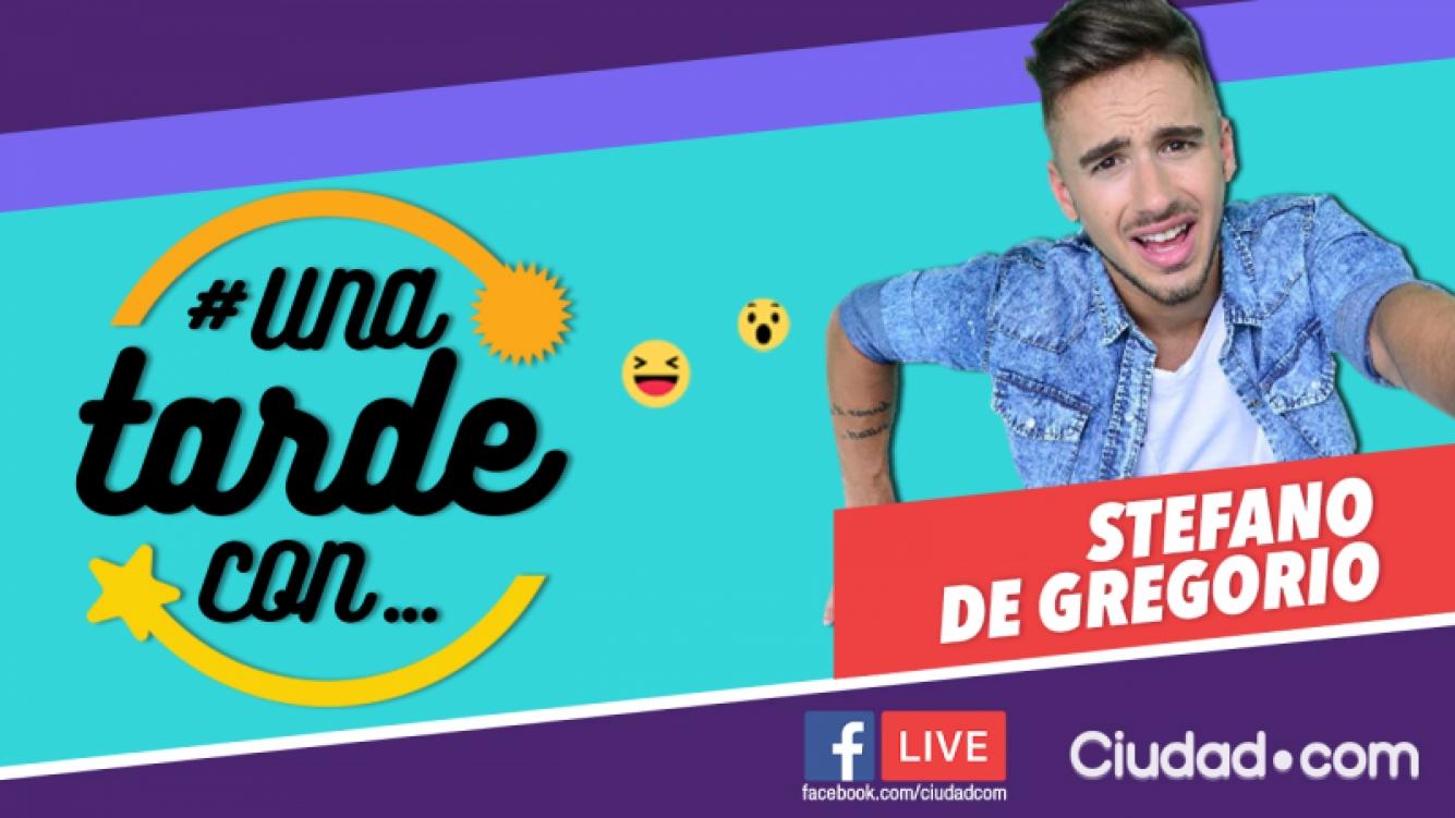 Stéfano De Gregorio en #UnaTardeCon, por Facebook Live.