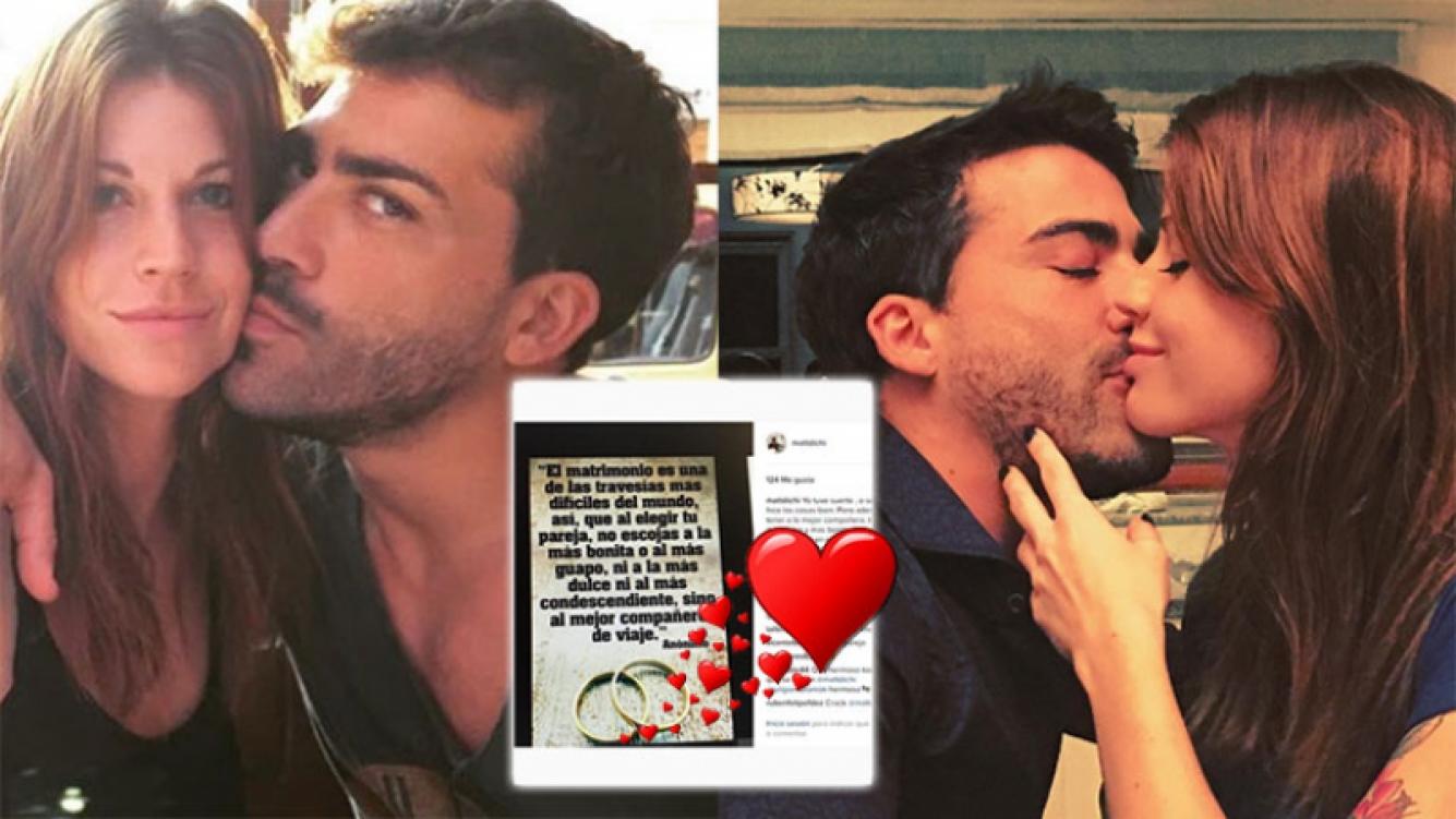 Juliana Giambroni y Matías Di Chiara confirmaron su casamiento con mensajes súper románticos (Foto: Instagram)