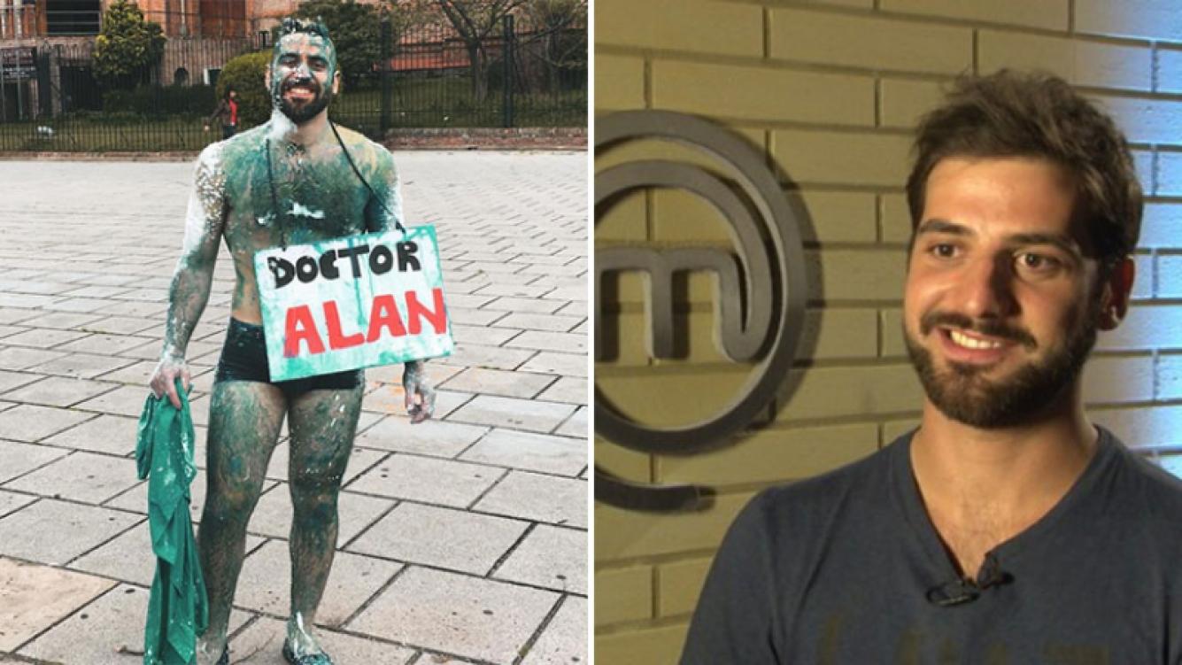 Alan Disavia, el ex MasterChef 2015, se recibió de psiquiatra. (Foto: Web)
