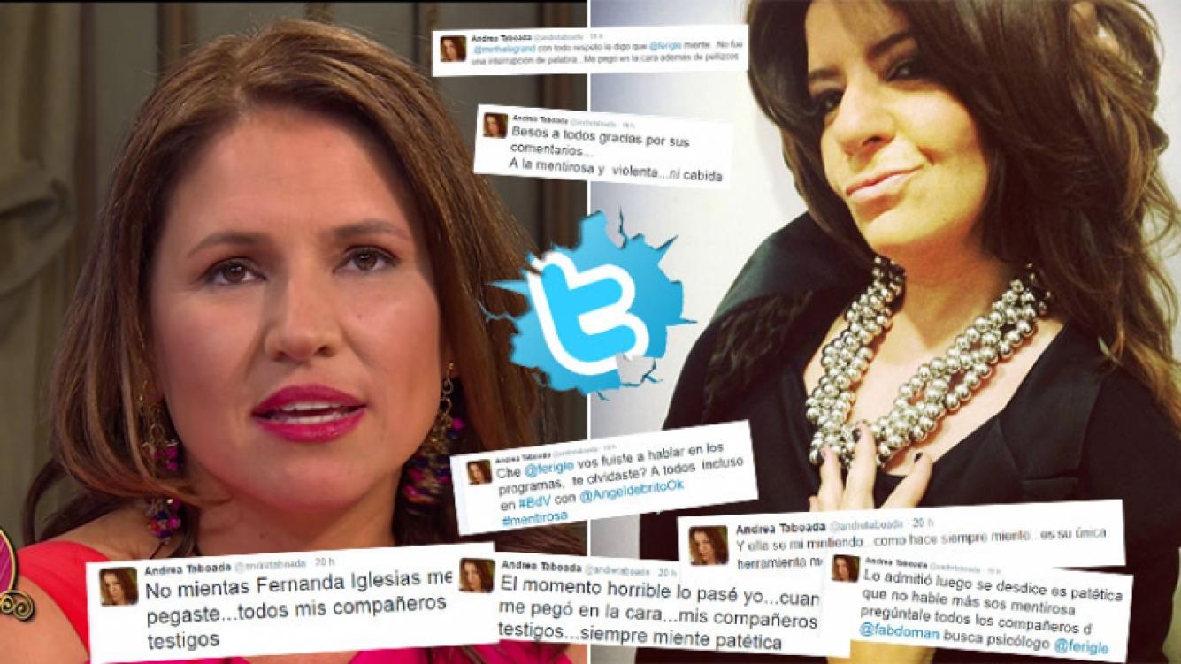 Fernanda Iglesias disparó contra Taboada en lo de Mirtha. (Foto: Web)