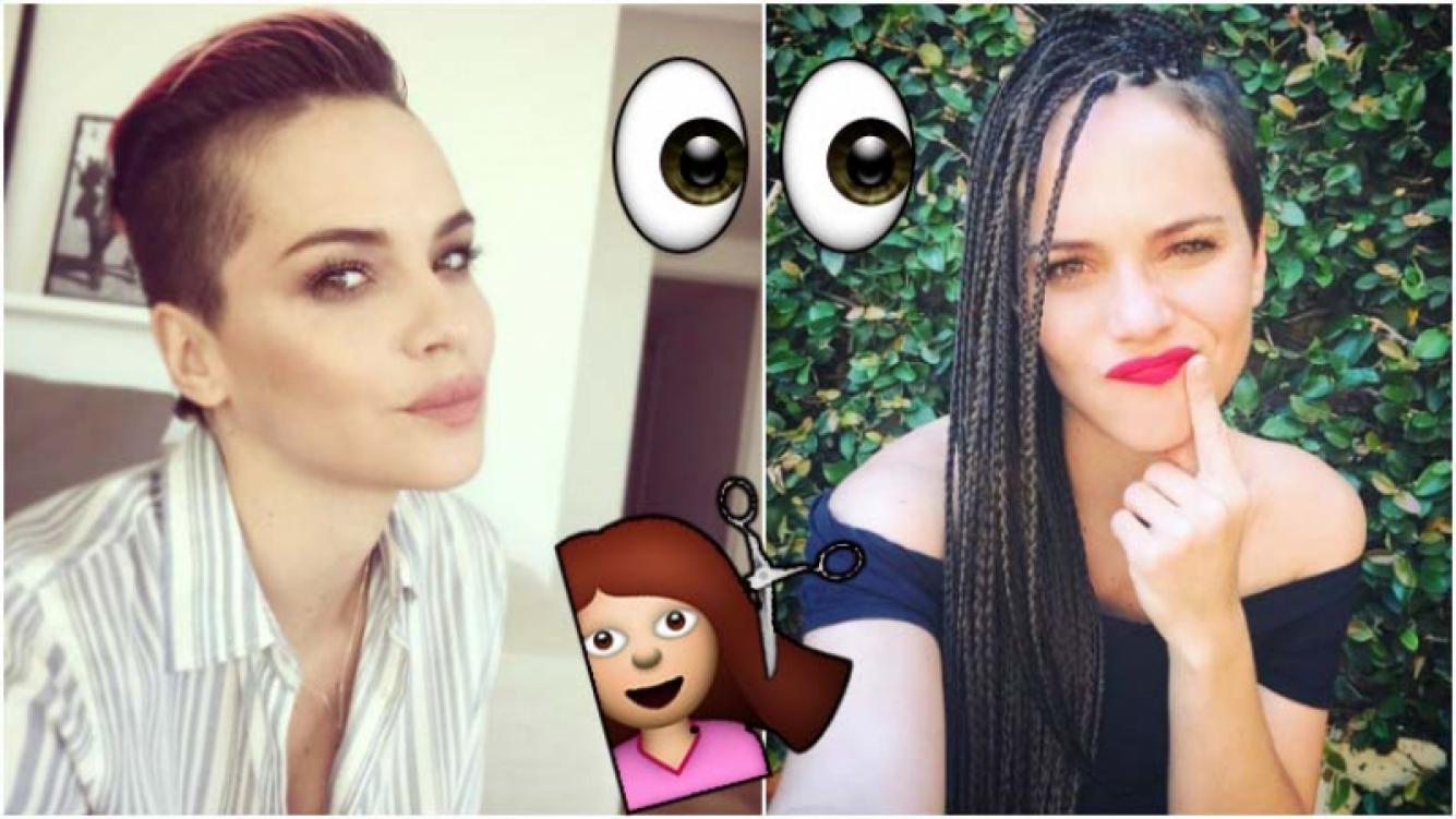 El nuevo cambio de look de Luz Cipriota: de pelo cortito a largo, morocho y lleno de trenzas (Fotos: Instagram)