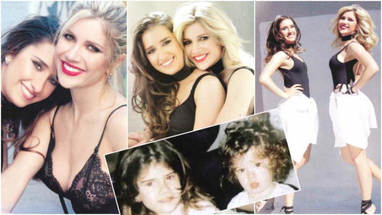 Laurita Fernández y su hermana Gabriela hablaron de todo tras bailar juntas en ShowMatch (Fotos: revista Gente)