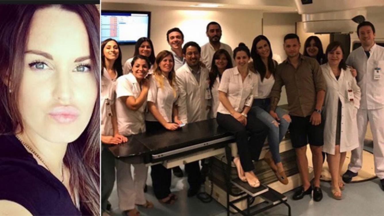 Natalie Weber y su emotivo mensaje tras superar un cáncer de mama. Fotos: Web y Twitter.