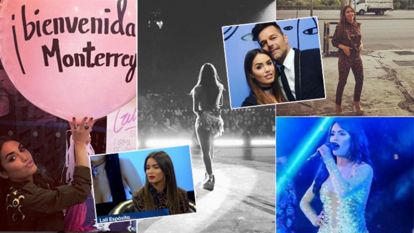 Lali Espósito y sus emocionantes días en México (Fotos: Instagram y web)