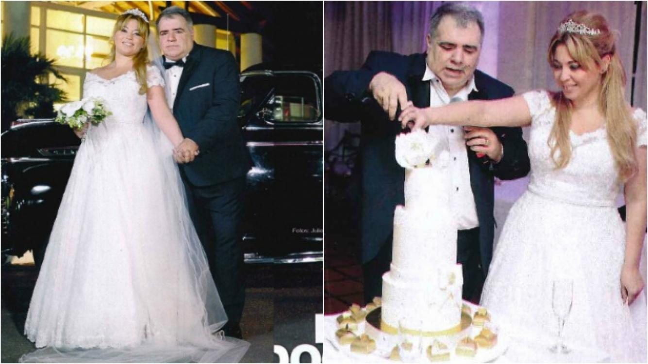 Las fotos del casamiento y el festejo de Miguel Ángel Pierri y Vanina Hussein. Foto: Gente