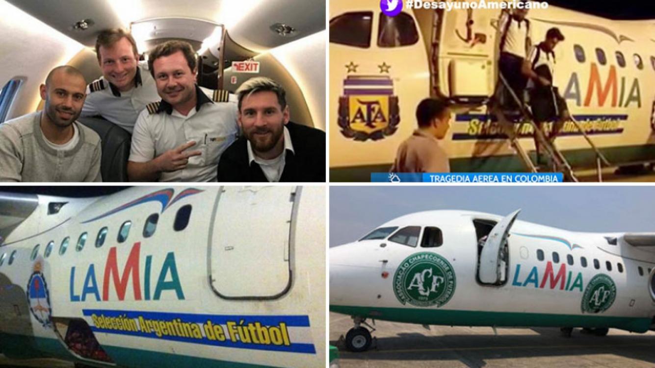 Lionel Messi y el resto de la Selección Argentina viajaron hace tres semanas en el mismo avión que se estrelló en Colombia. (Foto: Web)